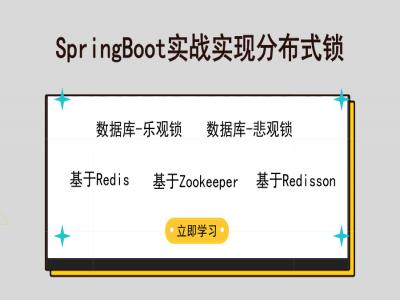 SpringBoot实战知识体系+RabbitMQ+分布式锁深入实战成神之路