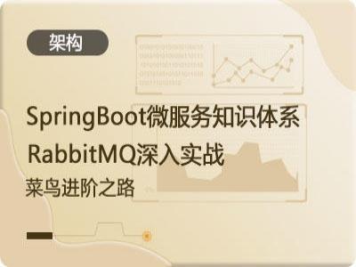 SpringBoot微服务知识体系与RabbitMQ深入实战-菜鸟成神之路