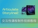 Articulate Storyline2 交互性课程制作教程视频