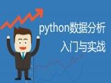python数据分析入门与实战视频教程