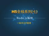 H5全栈系列七:Node.js编程视频教程