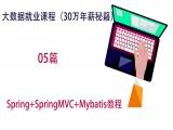 2018年大数据系列课程-Spring+SpringMVC+Mybatis教程