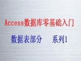 Access数据库零基础入门系列1视频教程